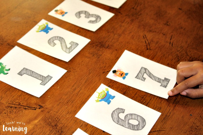 Preschool Counting to 100 Flashcards