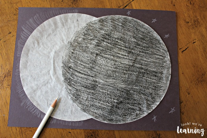 Simple Solar Eclipse Craft for Kids to Make