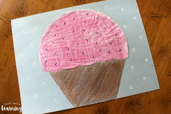 Super Easy Coffee Filter Cupcake Craft