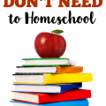 Think you're behind on homeschool planning You're not. You don't need a lot to homeschool, even if you're a newbie!