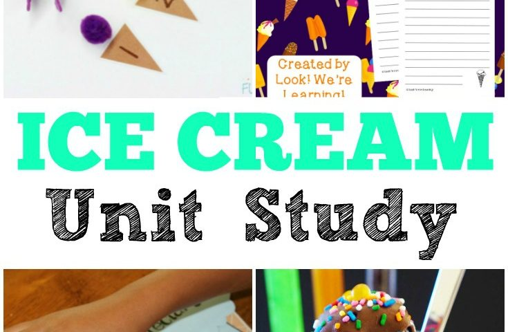 Homeschool Unit Studies: Ice Cream Unit Study