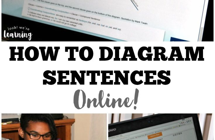 Learn with Diagrams: Online Sentence Diagramming for Kids