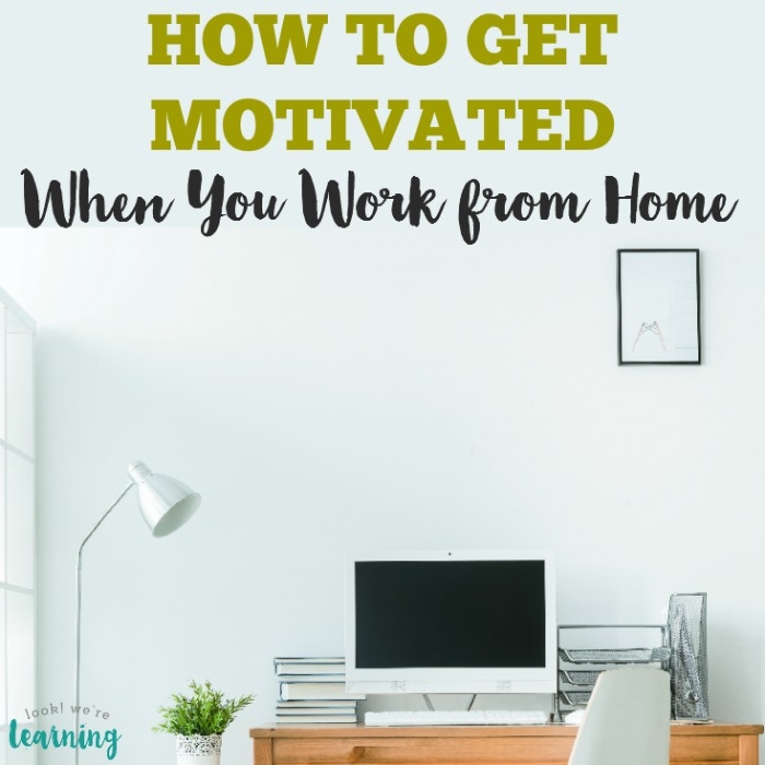 Work at Home Productivity Tips That Work!