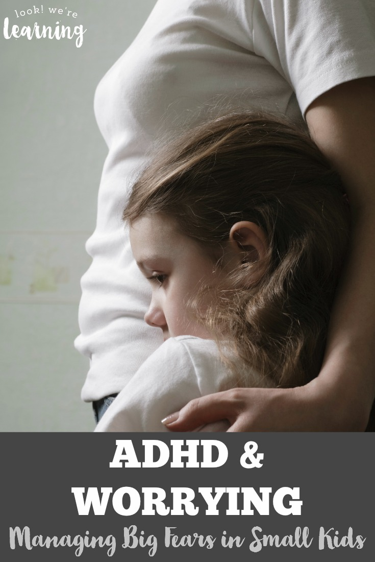 Does your child with ADHD worry a lot I have one who lives with constant anxiety. Here are a few ways to help kids with ADHD manage their fears.