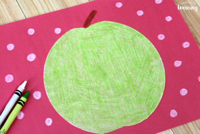 Easy Green Apple Coffee Filter Craft