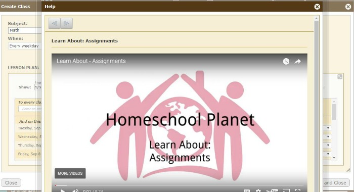 Homeschool Planet Assignment Tutorial