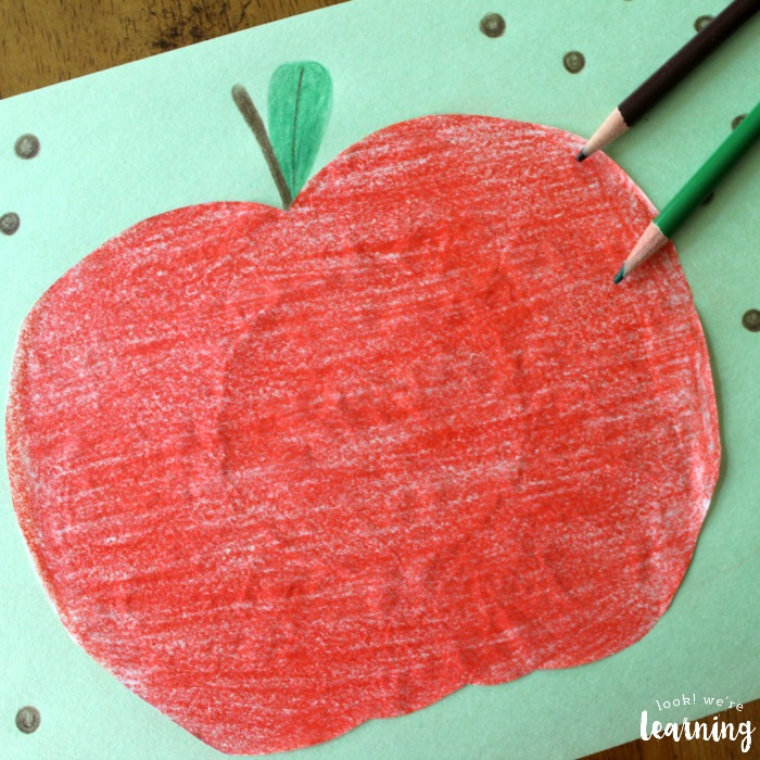 Kids Apple Craft