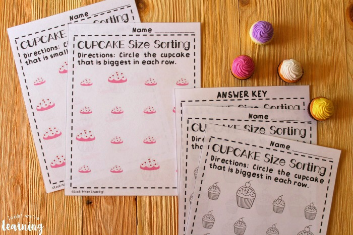 Printable Big and Small Worksheets for Kids