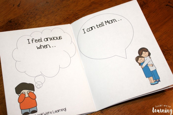 Printable Kids Worry Book