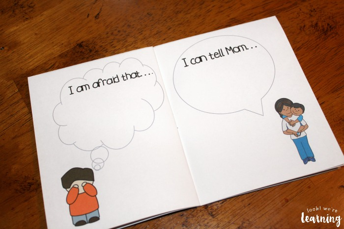 Printable Worry Book for Kids