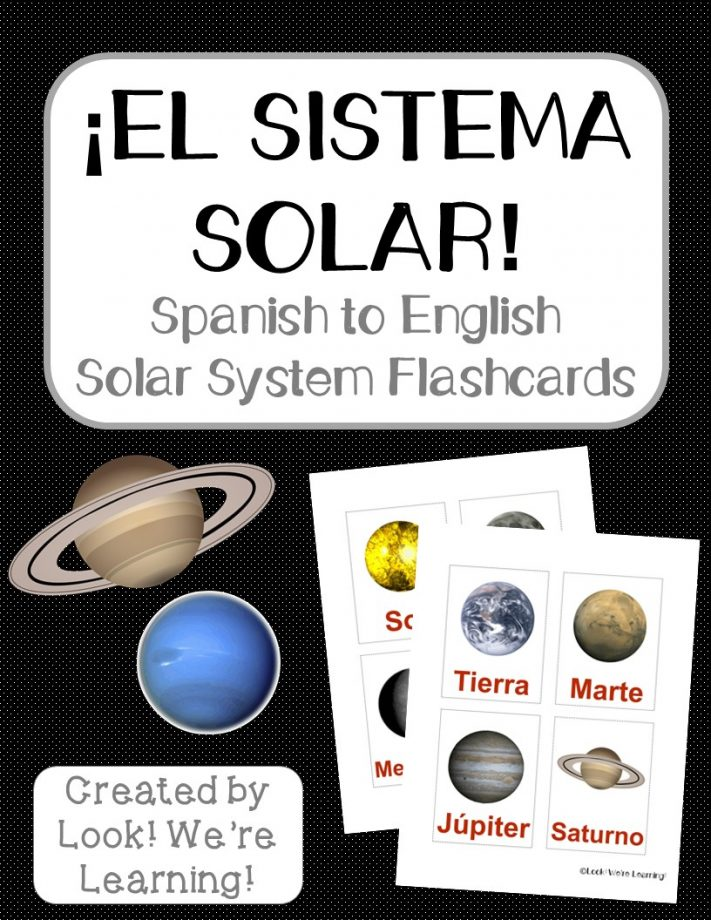 Spanish Solar System Cover