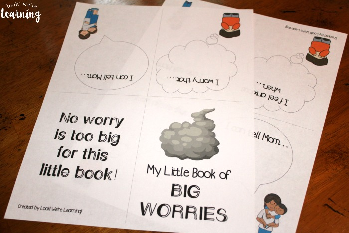 The Little Big Worry Book for Kids