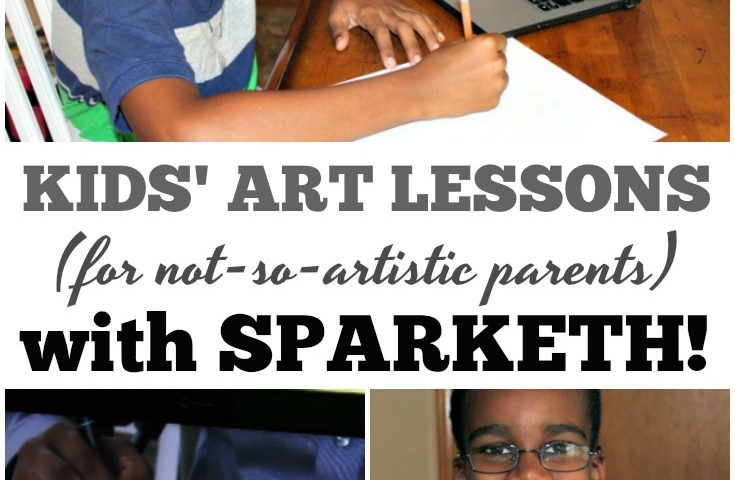 Easy Art Lessons for Kids with Sparketh