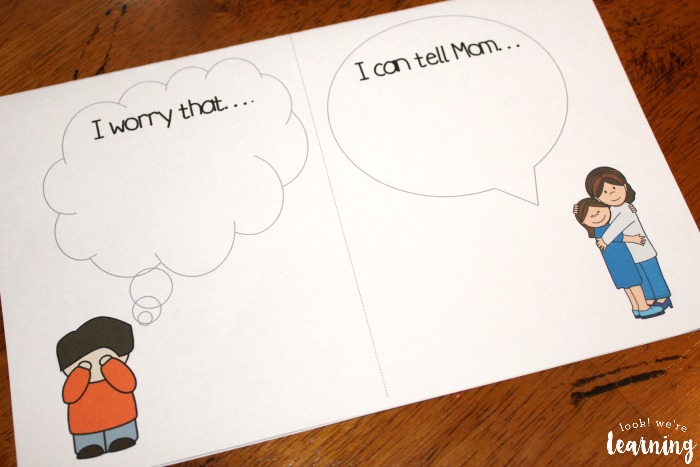 Worry Book for Kids