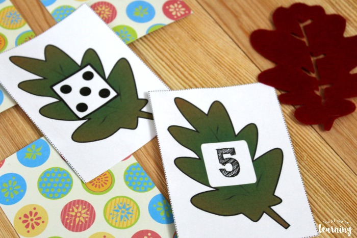 Fall Counting Concentration Game