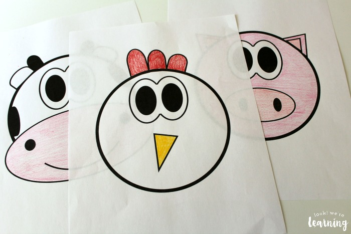 Farm Puppet Printables