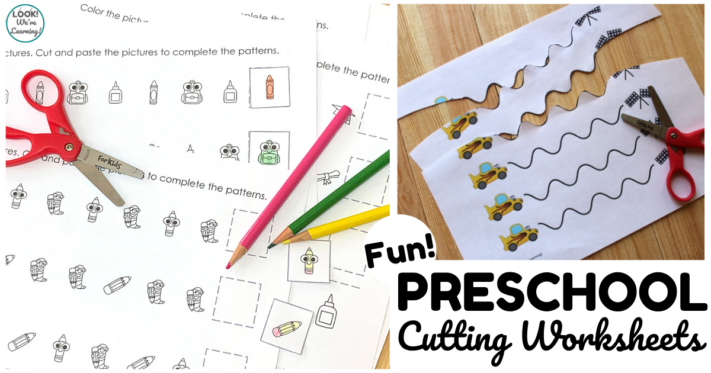 Fun Preschool Scissor Skills Worksheets for Kids