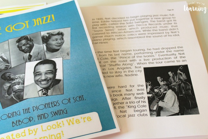 Homeschool Printing Service - We Got Jazz Unit Study