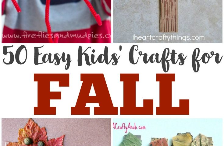 50 Fall Crafts for Kids