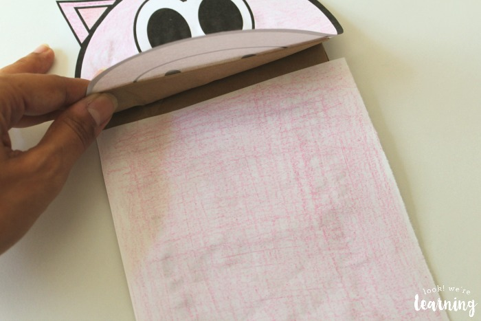 Making a Farm Paper Bag Puppet for Kids