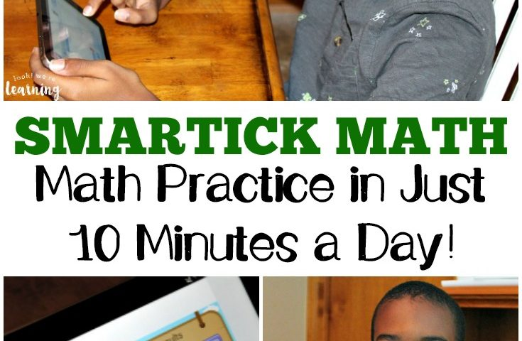 10 Minute Math Practice with the Smartick Math App
