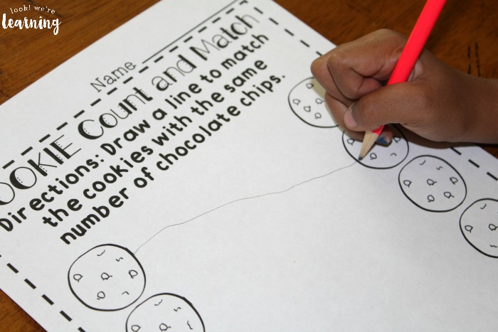 Preschool Counting Worksheets