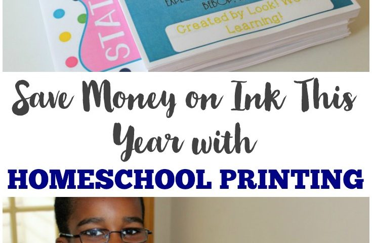 Save Money on Ink with a Homeschool Printing Service!
