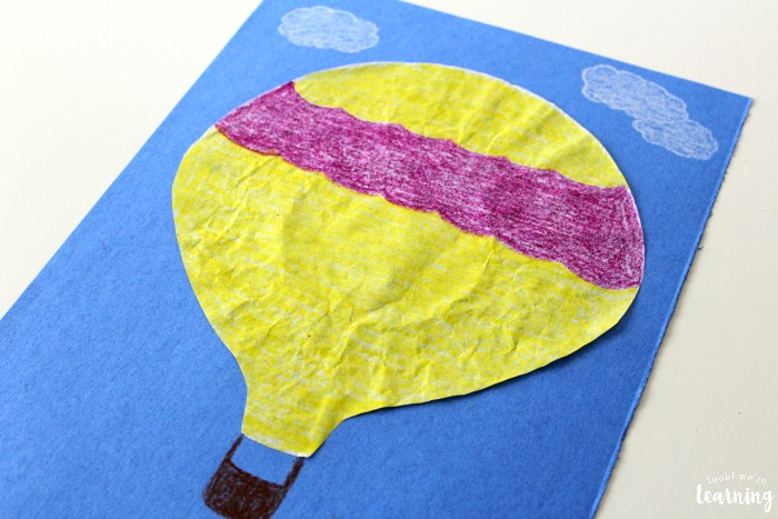 Simple Hot Air Balloon Craft for Kids