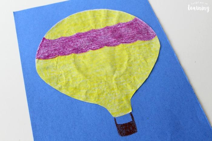 Simple Hot Air Balloon Craft