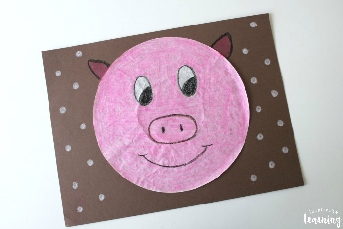 Simple Pig Craft for Kids