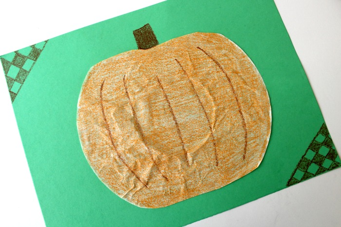 Simple Pumpkin Craft for Kids to Make