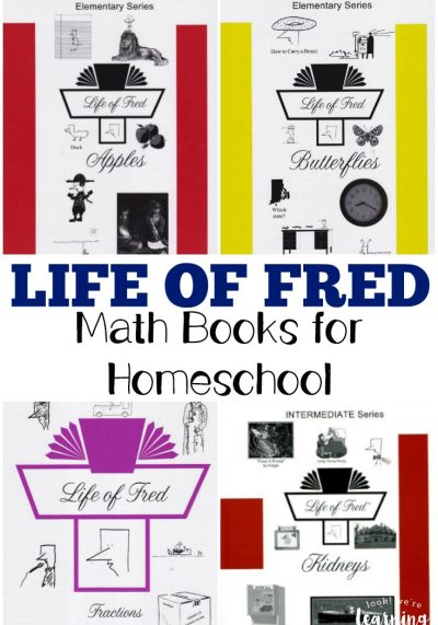 Thinking of Life of Fred math books for homeschool? Take a look at the selections!