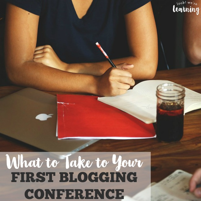 What to Take to Your First Blogging Conference