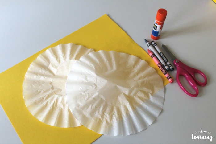 Coffee Filter Elephant Craft Supplies