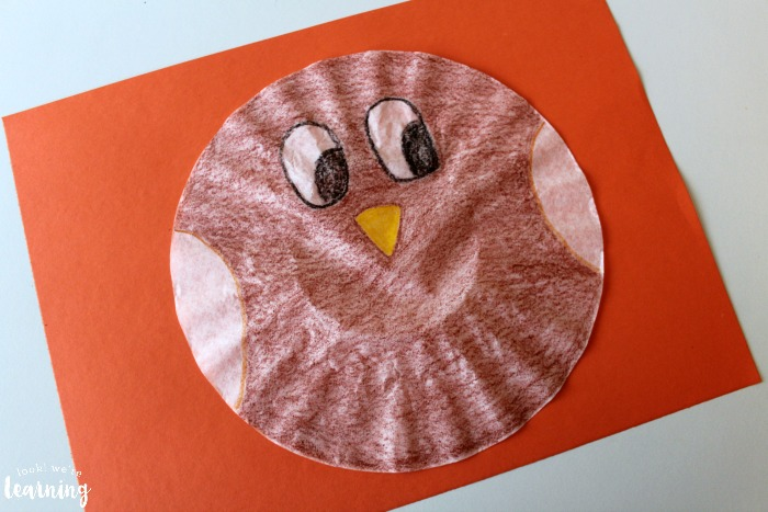 Coffee Filter Owl Craft for Kids to Make