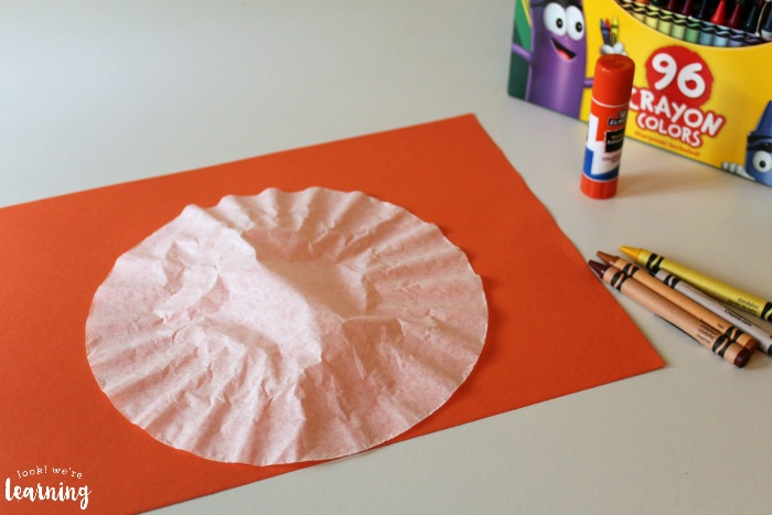 Coffee Filter Owl Craft for Kids