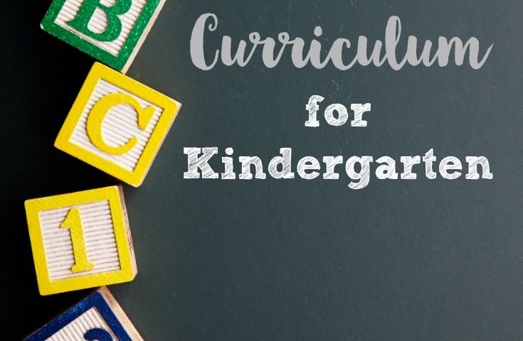 Simple Minimalist Kindergarten Homeschool Curriculum
