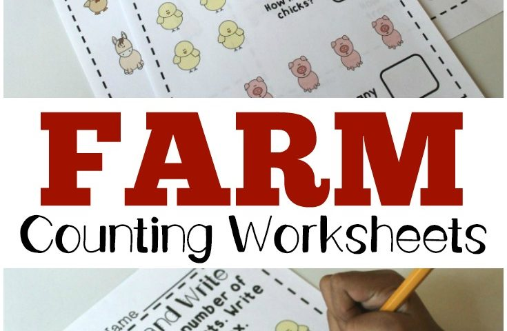 Preschool Worksheets: Fall Counting Worksheets