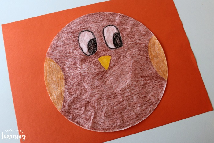 Making an Owl Craft for Kids