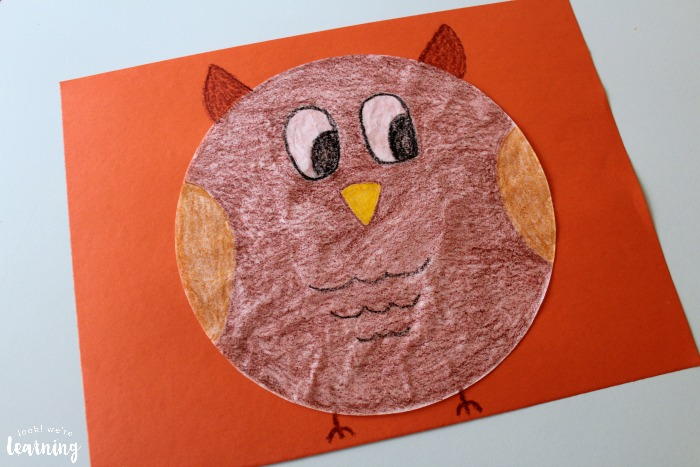 Simple Coffee Filter Owl Craft
