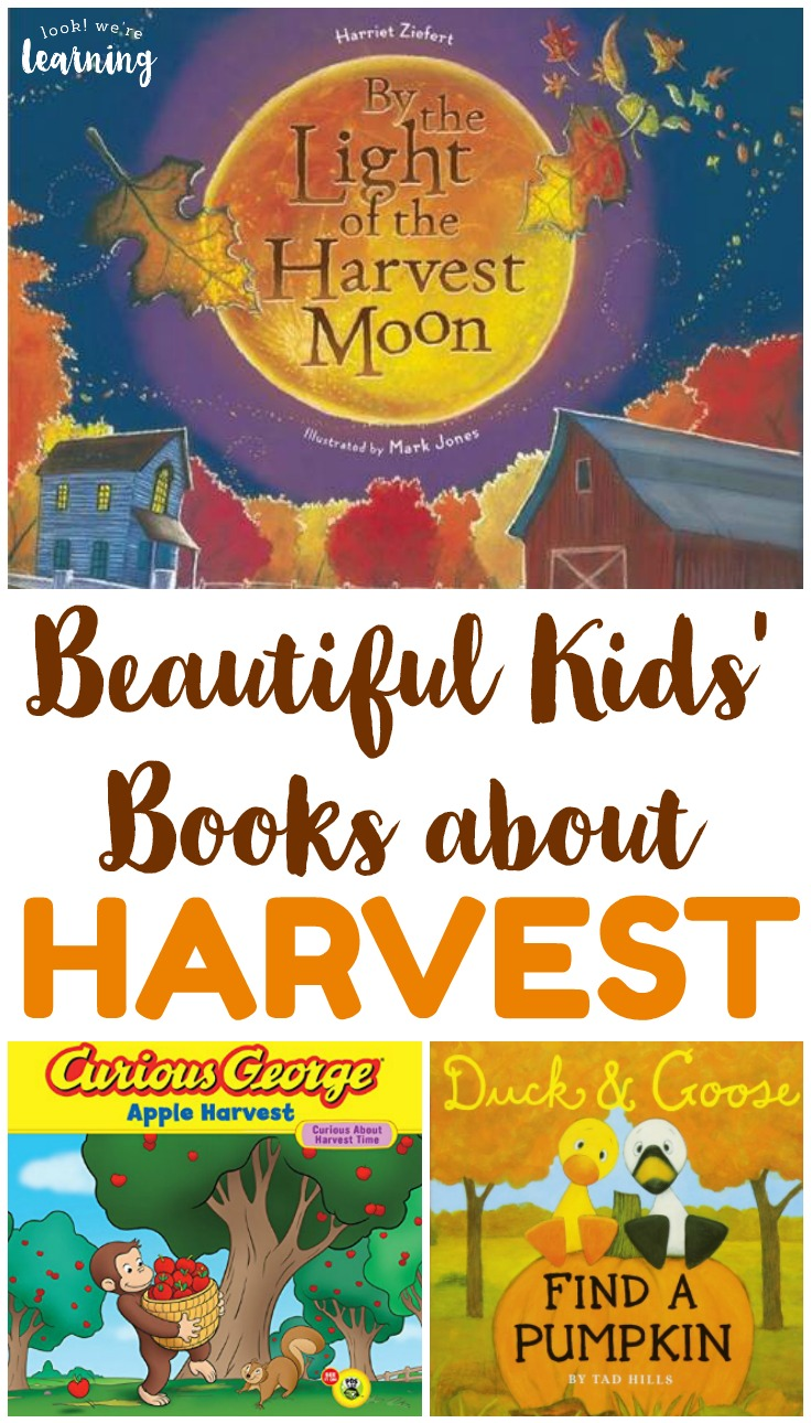 These beautiful harvest books for kids are lovely for sharing autumn stories together as a family!
