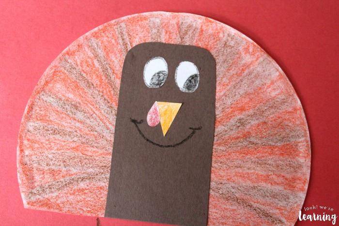 Fun Coffee Filter Turkey Craft