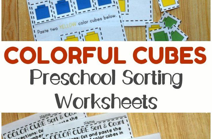 Preschool Worksheets: Preschool Sorting Worksheets