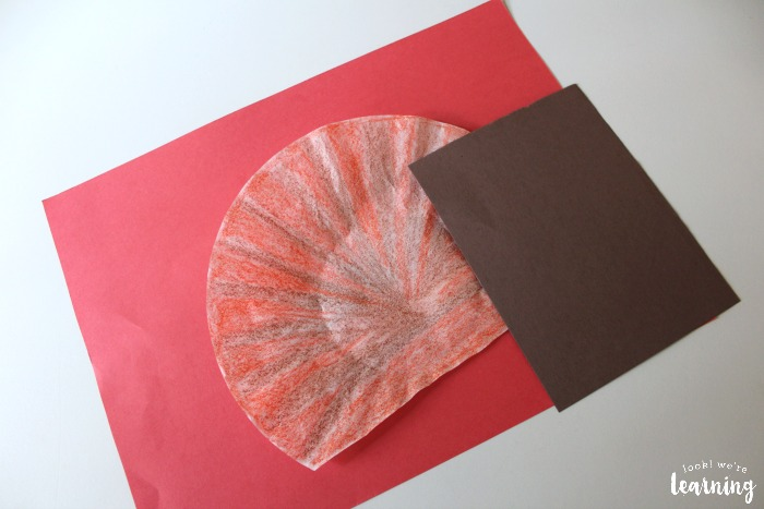 How to Make a Coffee Filter Turkey Craft