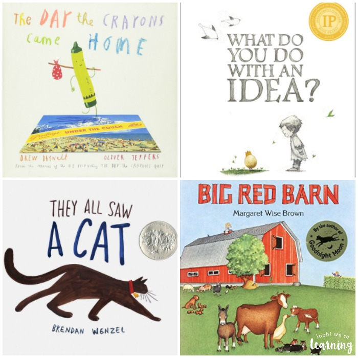 Kindergarten Reading List for Kids