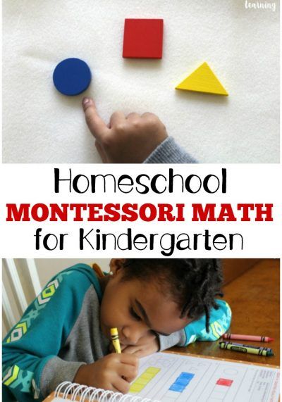 Montessori Homeschool Kindergarten with ShillerMath