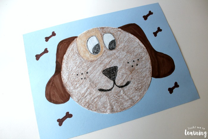 Making a Simple Coffee Filter Dog Craft