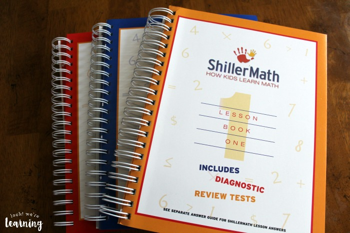 Shiller Math Kit A Lesson Books