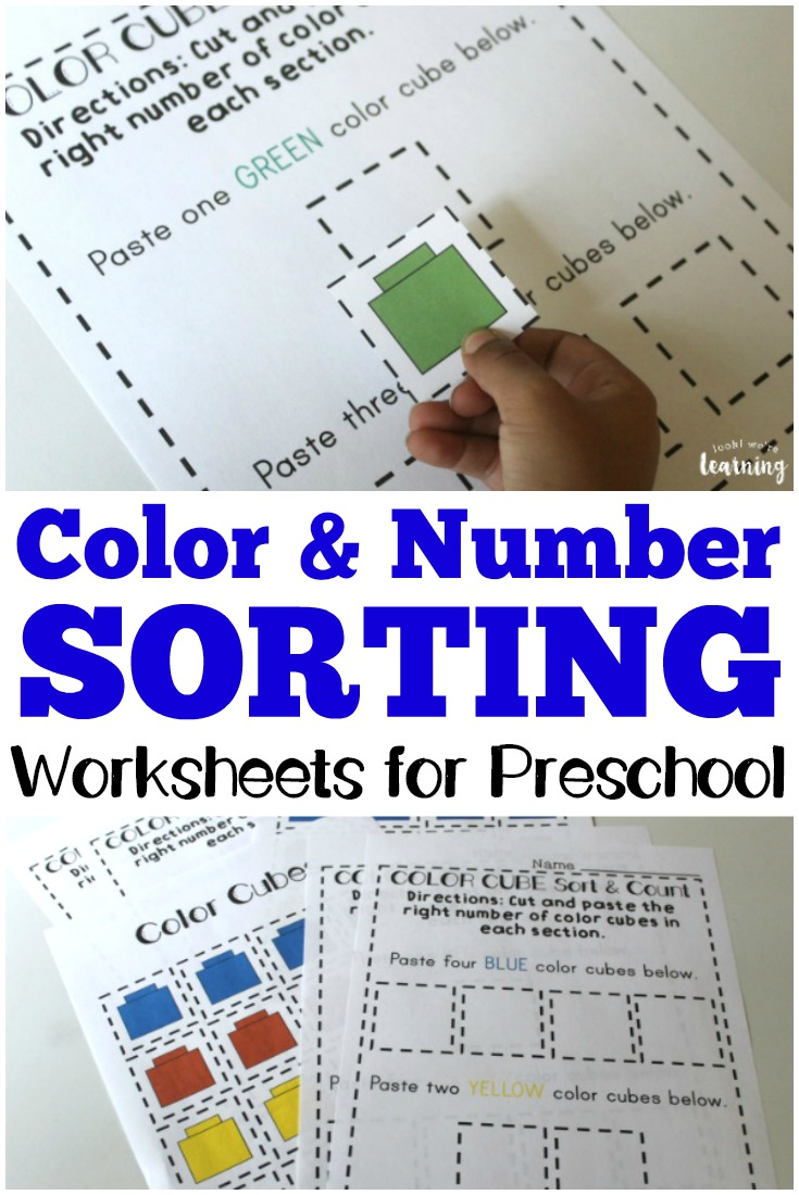 preschool worksheets preschool sorting worksheets look we 39 re learning. Black Bedroom Furniture Sets. Home Design Ideas
