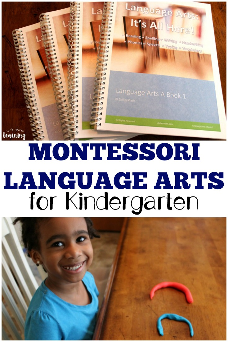 Thinking of a Montessori approach for language arts? See how Shiller Math Language Arts Foundations works for kindergarten!